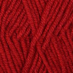 Пряжа Пехорка Перспективная (50% мериносовая шерсть, 50% акрил) 5х100г/270м цв.091 кармин