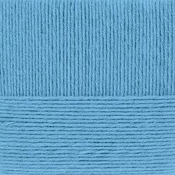 Пряжа Пехорка Перспективная (50% мериносовая шерсть, 50% акрил) 5х100г/270м цв.242 гжель