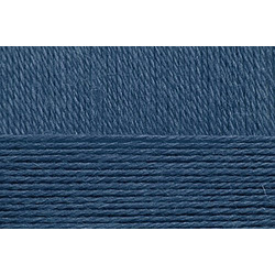 Пряжа Пехорка Перспективная (50% мериносовая шерсть, 50% акрил) 5х100г/270м цв.255 джинсовый
