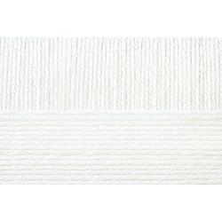 Пряжа Пехорка Перуанская альпака (50% альпака, 50% меринос шерсть) 10х50г/150м цв.001 белый