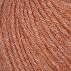 Пряжа Пехорка Перуанская альпака (50% альпака, 50% меринос шерсть) 10х50г/150м цв.878 терракот (меланж)