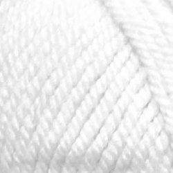 Пряжа Пехорка Популярная (50% импортная шерсть, 45% акрил, 5% акрил высокообъёмный) 10х100г/133м цв.001 отбелка