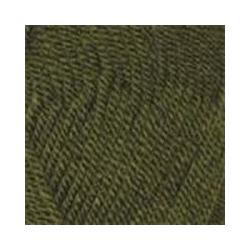 Пряжа Пехорка Популярная (50% импортная шерсть, 45% акрил, 5% акрил высокообъёмный) 10х100г/133м цв.013 т.оливковый