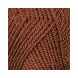 Пряжа Пехорка Популярная (50% импортная шерсть, 45% акрил, 5% акрил высокообъёмный) 10х100г/133м цв.030 св.терракотовый