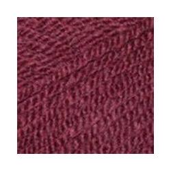 Пряжа Пехорка Популярная (50% импортная шерсть, 45% акрил, 5% акрил высокообъёмный) 10х100г/133м цв.042 слива