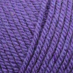 Пряжа Пехорка Популярная (50% импортная шерсть, 45% акрил, 5% акрил высокообъёмный) 10х100г/133м цв.087 т.лиловый