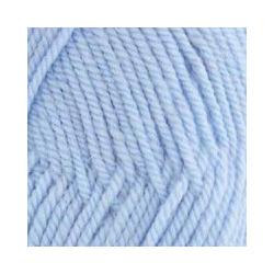 Пряжа Пехорка Популярная (50% импортная шерсть, 45% акрил, 5% акрил высокообъёмный) 10х100г/133м цв.195 незабудка