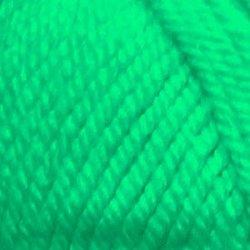 Пряжа Пехорка Популярная (50% импортная шерсть, 45% акрил, 5% акрил высокообъёмный) 10х100г/133м цв.335 изумруд