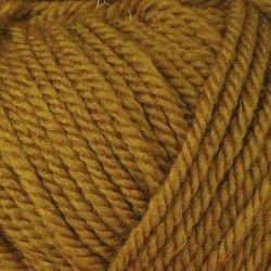 Пряжа Пехорка Популярная (50% импортная шерсть, 45% акрил, 5% акрил высокообъёмный) 10х100г/133м цв.447 горчица