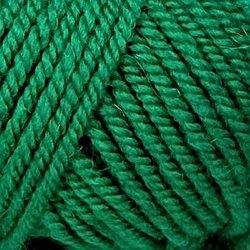 Пряжа Пехорка Популярная (50% импортная шерсть, 45% акрил, 5% акрил высокообъёмный) 10х100г/133м цв.480 ярк.зелень