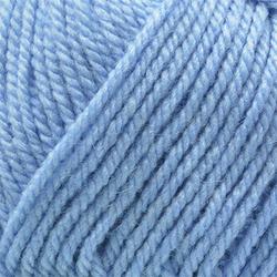 Пряжа Пехорка Популярная (50% импортная шерсть, 45% акрил, 5% акрил высокообъёмный) 10х100г/133м цв.520 голубая пролеска