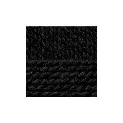 Пряжа Пехорка Северная (30% ангора, 30% полутонкая шерсть, 40% акрил) 10х50г/50м цв.002 черный