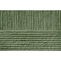 Пряжа Пехорка Удачная (50% акрил, 50% шерсть) 5х100г/250м цв.013 т.оливковый