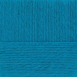 Пряжа Пехорка Удачная (50% акрил, 50% шерсть) 5х100г/250м цв.014 морская волна