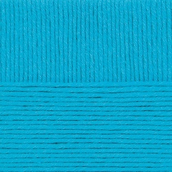 Пряжа Пехорка Удачная (50% акрил, 50% шерсть) 5х100г/250м цв.583 бирюза