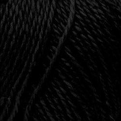 Пряжа Пехорка Секрет успеха (100% шерсть) 10х100г/250м цв.002 черный