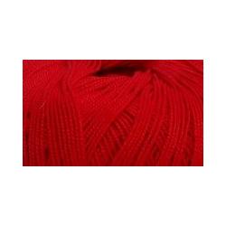 Пряжа Пехорка Ажурная (100% хлопок) 10х50г/280м цв.088 красный мак