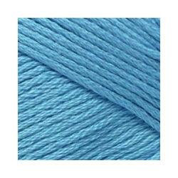 Пряжа Пехорка Весенняя (100% хлопок) 5х100г/250м цв.015 т. голубой