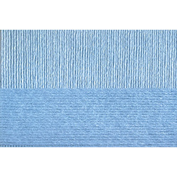 Пряжа Пехорка Вискоза натуральная (100% вискоза) 5х100г/400м цв.005 голубой