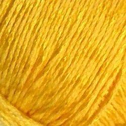 Пряжа Пехорка Жемчужная (50% хлопок, 50% вискоза) 5х100г/425м цв.012 желток