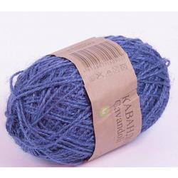Пряжа Пехорка Кавандоли (100% джут) 5х100г/180м цв.100 (005) корол. синий