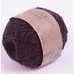 Пряжа Пехорка Кавандоли (100% джут) 5х100г/180м цв.251 (003) коричневый