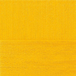 Пряжа Пехорка Классический хлопок (100% мерсеризованный хлопок) 5х100г/250м цв.012 желток