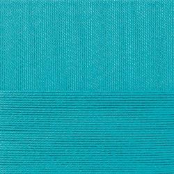 Пряжа Пехорка Классический хлопок (100% мерсеризованный хлопок) 5х100г/250м цв.045 т.бирюзовый