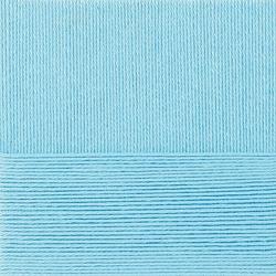 Пряжа Пехорка Классический хлопок (100% мерсеризованный хлопок) 5х100г/250м цв.222 голубая бирюза