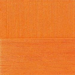 Пряжа Пехорка Классический хлопок (100% мерсеризованный хлопок) 5х100г/250м цв.485 желтооранжевый
