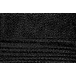 Пряжа Пехорка Конопляная (70% хлопок, 30% конопля) 5х50г/280м цв.002 черный