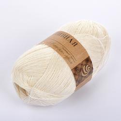 Пряжа Пехорка Крапивная (100% крапива) 5х50г/250м цв.166 суровый