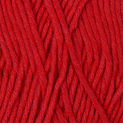 Пряжа Пехорка Лаконичная (50% хлопок, 50% акрил) 5х100г/212м цв.006 красный