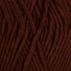 Пряжа Пехорка Лаконичная (50% хлопок, 50% акрил) 5х100г/212м цв.416 св.коричневый