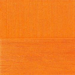Пряжа Пехорка Лаконичная (50% хлопок, 50% акрил) 5х100г/212м цв.485 желто-оранжевый
