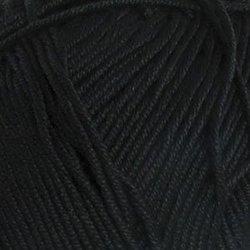 Пряжа Пехорка Летняя (100% Мерсеризованный хлопок) 5х100г/330м цв.002 черный