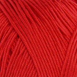 Пряжа Пехорка Летняя (100% Мерсеризованный хлопок) 5х100г/330м цв.006 красный