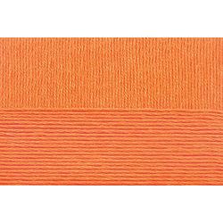 Пряжа Пехорка Летняя (100% Мерсеризованный хлопок) 5х100г/330м цв.485 желтооранжевый