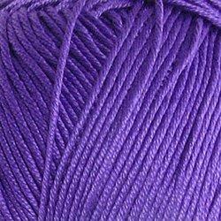 Пряжа Пехорка Летняя (100% Мерсеризованный хлопок) 5х100г/330м цв.698 т.фиолетовый