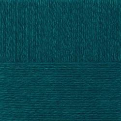 Пряжа Пехорка Молодёжная (91% акрил высокообъемный, 9% полиамид) 5х200г/280м цв.014 морская волна
