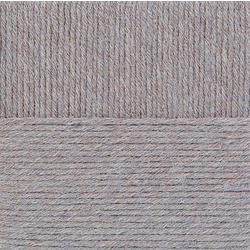 Пряжа Пехорка Молодёжная (91% акрил высокообъемный, 9% полиамид) 5х200г/280м цв.096 серый меланж