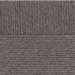 Пряжа Пехорка Молодёжная (91% акрил высокообъемный, 9% полиамид) 5х200г/280м цв.371 натур.серый
