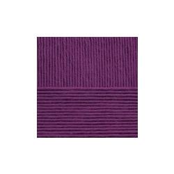 Пряжа Пехорка Нежная (50% хлопок, 50% акрил) 5х50г/150м цв.078 фиолетовый