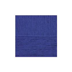 Пряжа Пехорка Нежная (50% хлопок, 50% акрил) 5х50г/150м цв.172 ярк.голубой