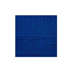 Пряжа Пехорка Нежная (50% хлопок, 50% акрил) 5х50г/150м цв.795 ярк.синий