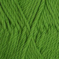 Пряжа Пехорка Пехорская шапка (85% мериносовая шерсть, 15% акрил высокообъемный) 5х100г/200м цв.434 зеленый