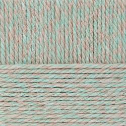 Пряжа Пехорка Сувенирная (50% шерсть, 50% акрил) 5х200г/160м цв.772 салатовый меланж