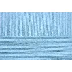 Пряжа Пехорка Успешная (100% хлопок мерсеризованный) 10х50г/220м цв.005 голубой