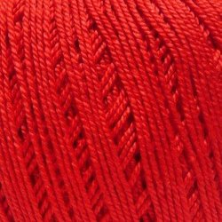 Пряжа Пехорка Успешная (100% хлопок мерсеризованный) 10х50г/220м цв.006 красный