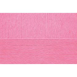 Пряжа Пехорка Хлопок Натуральный летний ассорт (100% хлопок) 5х100г/425 цв.011 яр.розовый